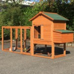 Chicken coop of wood Prestige Medium with run and laying nest