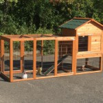 Chicken coop Prestige Medium with large run and laying nest