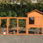 Chicken coop Prestige Medium with run Functional and laying nest