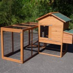 Angle setup chicken coop Prestige Medium
