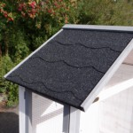 Aviary Sara Medium with felt roofing with slate