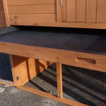 Rabbit hutch with drawer