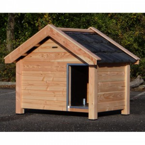 Dog house Reno made of douglas wood 160x106x123cm