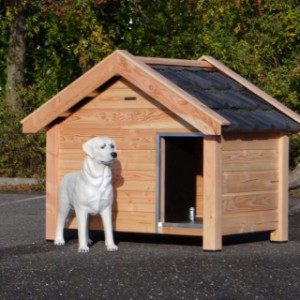 Dog house Reno, used for e.g. a Labrador