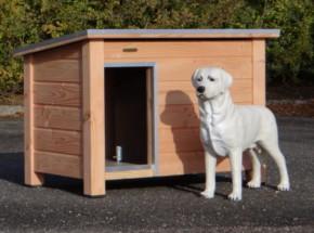 Doghouse Ferro Douglas, Insulated 129x85x85 cm