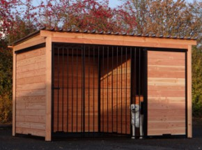 Very beautiful dog kennel