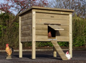 Chicken coop Chicky 2 high pressure threated wood