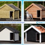 Dog house Reno in different colours
