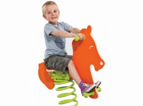 Spring rider for children