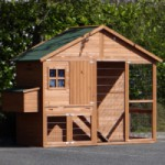 Chicken coop Holiday Large with nest box