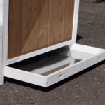 Chicken coop Pip with drawer