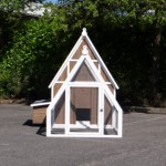 Chicken house Pip - Large chicken coop with run and laying nest