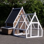 Chicken run Pip - large chicken coop with sleeping compartment