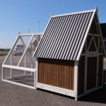 Chicken Coop XL with sleeping compartment