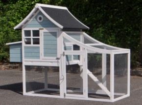 Chicken coop Nijntje with laying nest 201x95x154cm