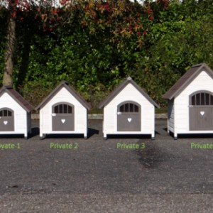 Doghouse Private available in 4 different sizes