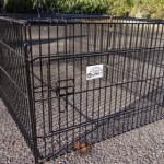 Rabbit cage, black powder coated | Maik