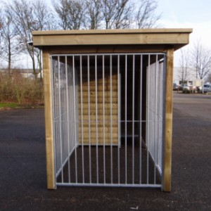 Dog kennel Fix with wooden frame