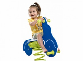 Spring rider Scooter for children