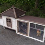 Chicken coop Ambiance Small with covered run