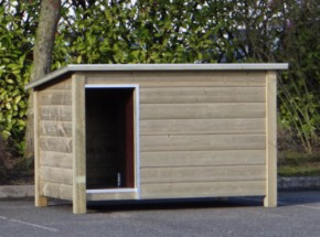 ✓ High pressure treated doghouse Loebas