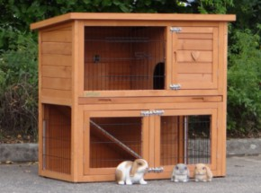 Low-priced rabbit hutch Basic