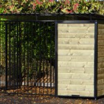 Stabil dog kennel black