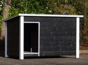 Doghouse Loebas Black / White