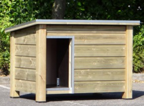 Doghouse Ferro insulated 129x85x85 cm