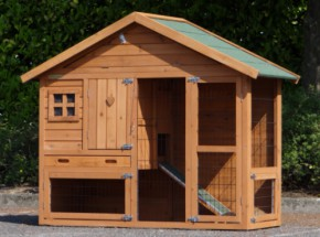 Rabbit hutch Holiday Small with anti-chewy protection