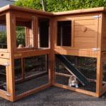 Rabbit house - Rabbit hutch Maurice