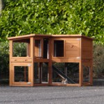 Angle rabbit hutch Maurice