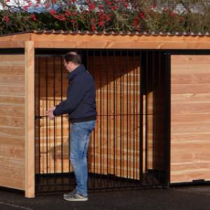 Wonderful dog kennel