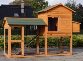 Chicken coop Prestige Large with run and laying nest