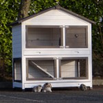 Hutch for rabbit Excellent Medium with run