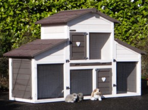 Bestseller Rabbit hutch Annemieke with run
