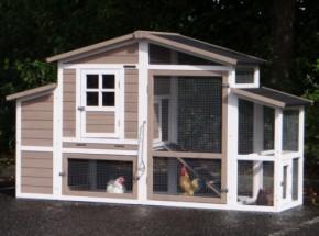 Rabbit hutch Leah with nestbox 206x75x120cm