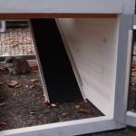 Rampe rabbit hutch with run