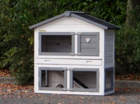 Rabbit hutch Regular Small with protection