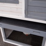 Rabbit hutch with deep drawer