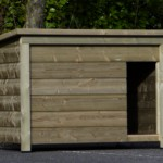 Sleeping compartment for medium-size dog breeds