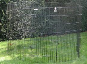 Heavy Rabbit run 8 panels Height 107cm