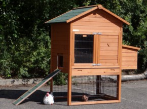 Chicken coop Prestige Medium with laying nest 132x90x150cm