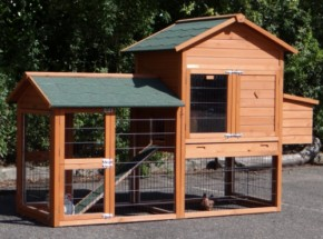 Chicken coop Prestige Medium with run and laying nest