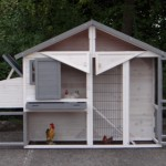 Chicken coop Holiday Medium with large doors